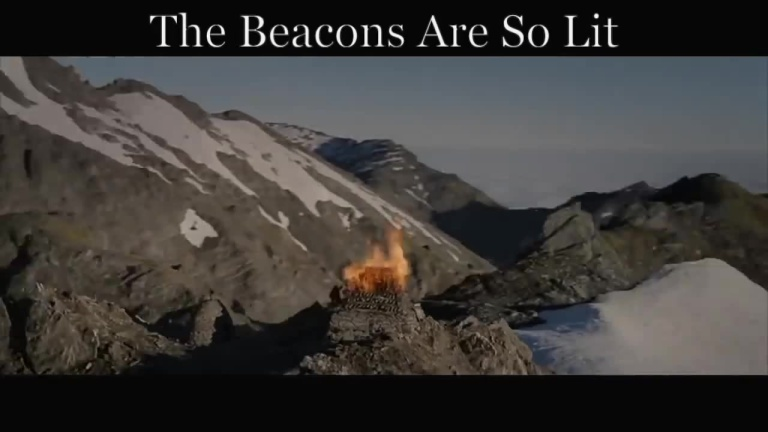 the beacons